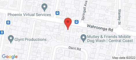 Location map for 32 Wahroonga Road Wyongah
