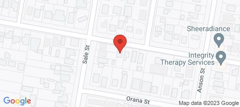 Location map for 116 Margaret Street Orange