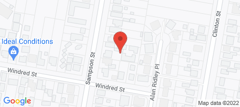 Location map for 148C Sampson Street Orange