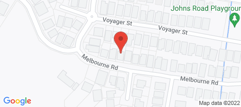 Location map for 16 Melbourne Road Wadalba