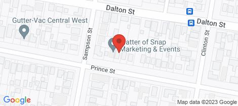 Location map for 25 Prince Street Orange
