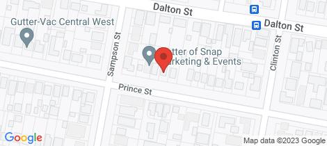Location map for 27 Prince Street Orange