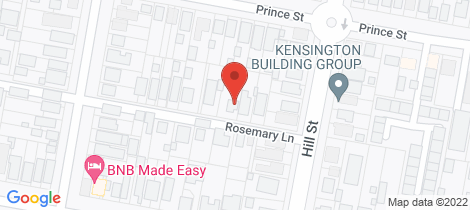 Location map for 39 Rosemary Lane Orange