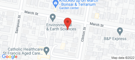 Location map for 6/42-44 March Street Orange