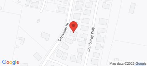 Location map for 52 Carwoola Drive Orange