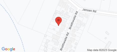 Location map for 8 Braithwaite Road Tacoma