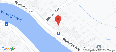 Location map for 56 Wolseley Ave Tacoma