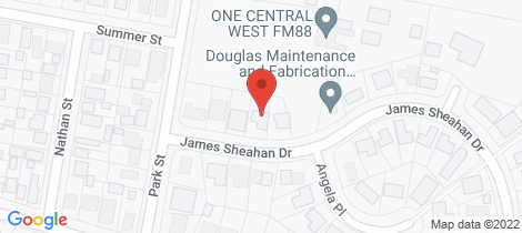 Location map for 36 James Sheahan Drive Orange
