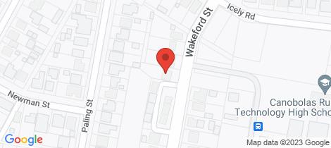 Location map for 31 Wakeford Street Orange
