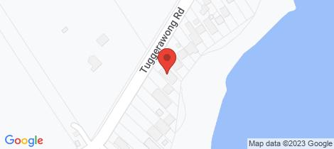 Location map for 470 Tuggerawong Road Tuggerawong