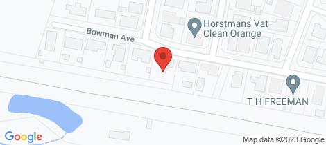 Location map for 59 Bowman Avenue Orange