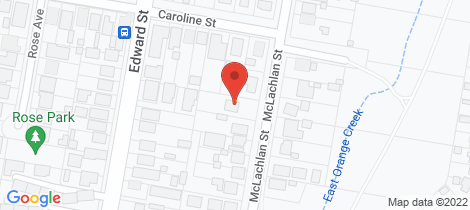 Location map for 21 McLachlan Street Orange