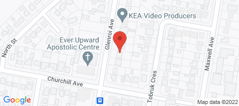 Location map for 38 Glenroi Avenue Orange