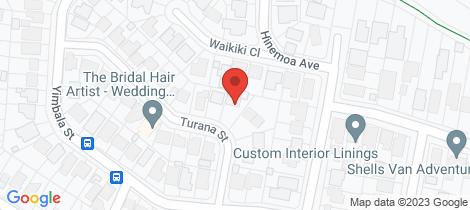 Location map for 7 Turana St Killarney Vale