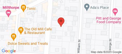 Location map for 18 Park Street Millthorpe