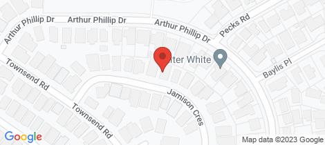 Location map for 32 Jamison Crescent North Richmond