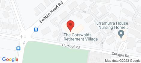 Location map for 31/28 Curagul Road North Turramurra