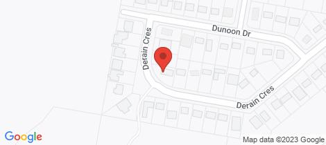 Location map for 27 Derain Crescent Hazelbrook