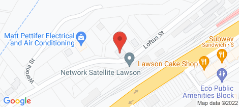 Location map for 27 Loftus Street Lawson
