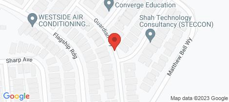 Location map for 29 Guardian Way Jordan Springs