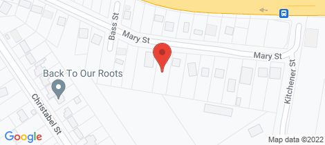 Location map for 17 Mary Street Lawson