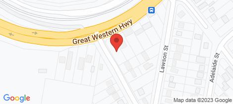 Location map for 339 Great Western Highway Bullaburra