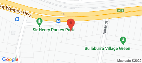 Location map for 381 Great Western Highway Bullaburra