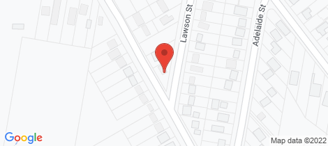 Location map for 10 Ridge Street Lawson