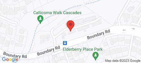 Location map for 18/220 Boundary Road Cherrybrook