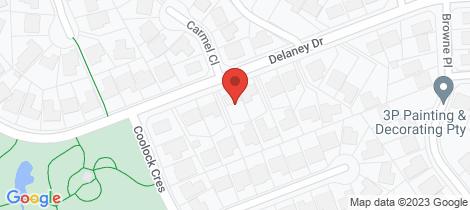 Location map for 37 Delaney Drive Baulkham Hills