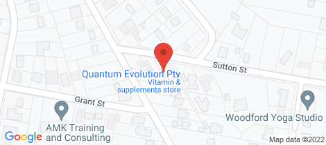 Location map for 3 Sutton Street Woodford