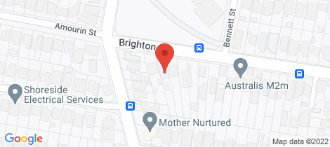 Location map for 3/96 Brighton Street Freshwater