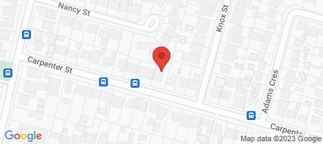 Location map for 225 & 225B Carpenter Street St Marys