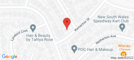 Location map for 13 Kemerton Street St Clair