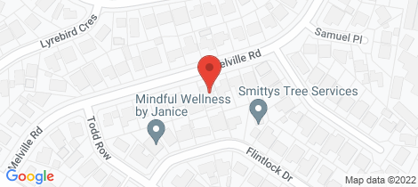 Location map for 74 Melville Road St Clair