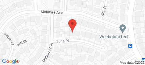 Location map for 3 Tuna Place St Clair