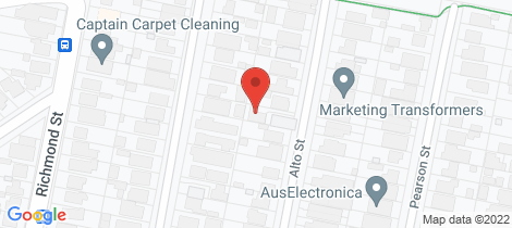 Location map for 22A Alto Street South Wentworthville