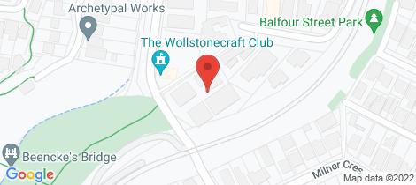 Location map for 21/1-5 Russell Street Wollstonecraft