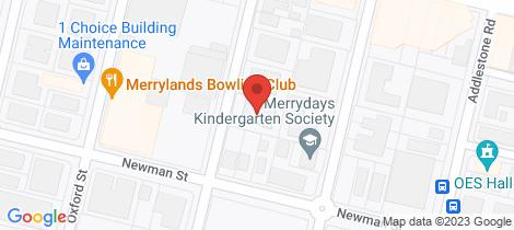 Location map for 1/12-14 Cambridge Street Merrylands