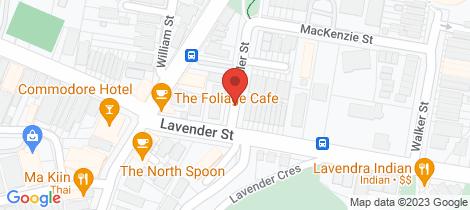 Location map for 6/2 Miller Street North Sydney