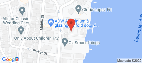 Location map for 7/29 East Crescent Street Mcmahons Point