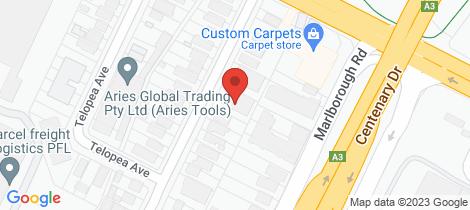 Location map for 16/18-20 Courallie Avenue Homebush West