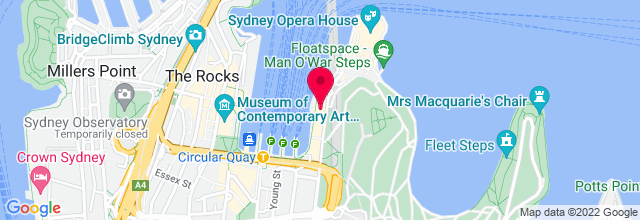 Map for Opera House