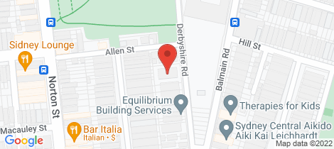 Location map for 7/30-34 Derbyshire Road Leichhardt