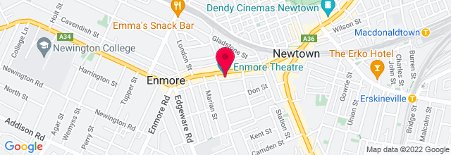 Map for Enmore Theatre