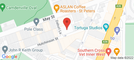 Location map for 16/19 Hutchinson Street St Peters