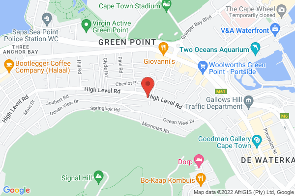 Centrally located in Green Point