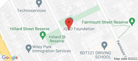 Location map for 17/37 McCourt Street Wiley Park