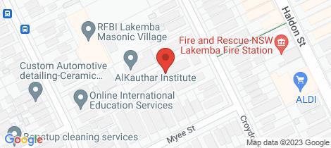 Location map for 14/81-83 Croydon Street Lakemba