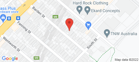 Location map for 23 Barden Street Tempe